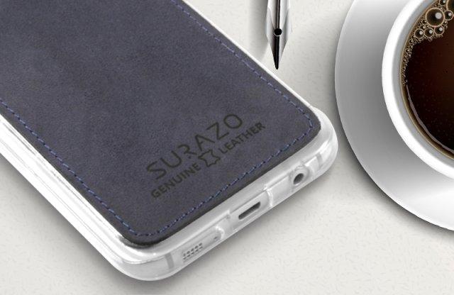 iPhone 6 szilikon védőtok, nubuk bőr borítással, kék + több színben