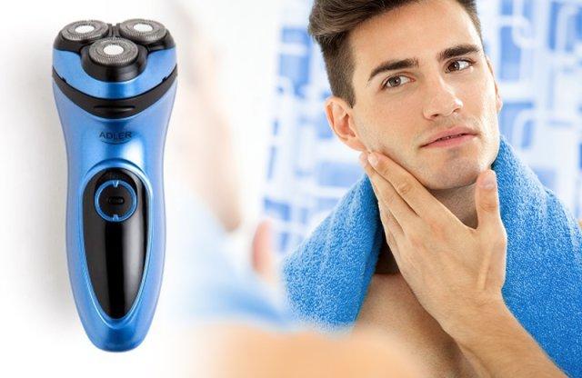 ADLER körkéses borotva, kék