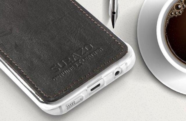 iPhone 6 szilikon védőtok, nubuk bőr borítással, fekete + több színben