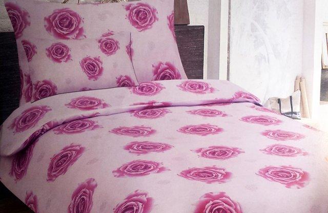 Smartex Pamut Standard 3 részes ágyneműhuzat garnitúra, pink-rózsás