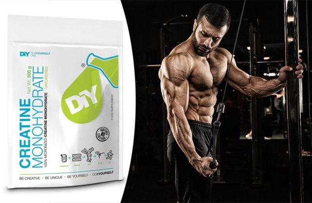 DIY Nutrition, Creatine Monohydrate, 500 g
