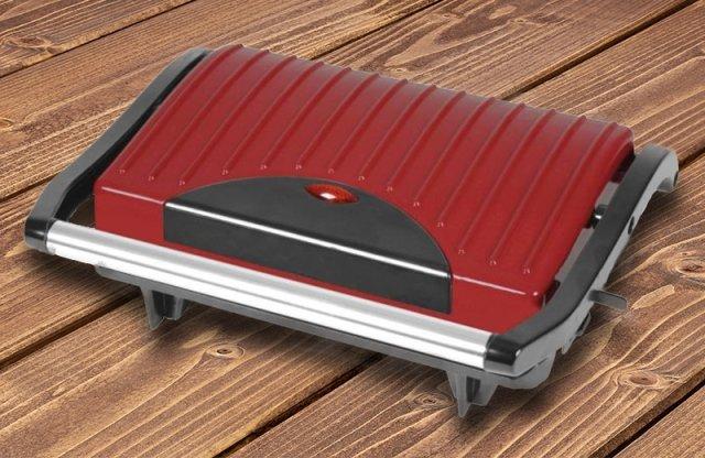 KALORIK grill, 700W, piros