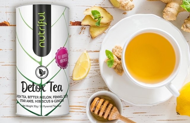 Detox tea, 15x2 g + több fajtában