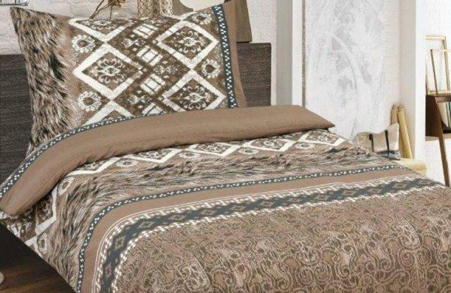 Smartex Prémium Pamut 6 részes ágyneműhuzat garnitúra, antik-barna