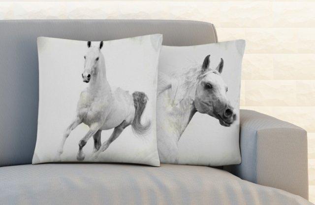 Párnahuzat, Ló + más állat