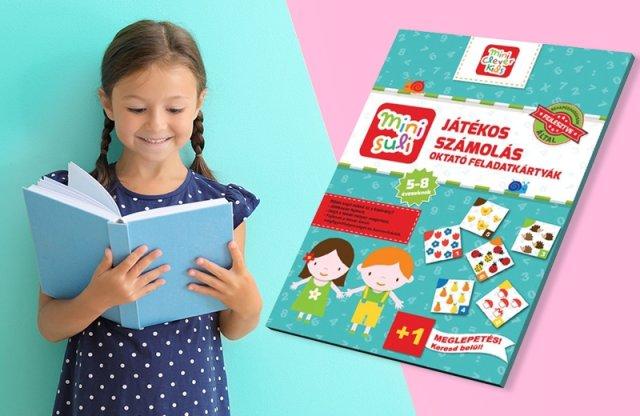 Mini Suli játékos számolás oktató feladatkártya