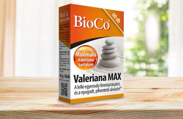BioCo Valeriana MAX, 60 db tabletta