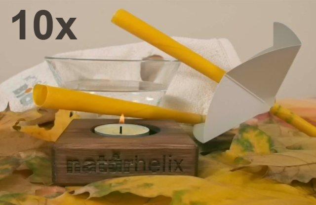 Naturhelix gyerek fülgyertya, 10 db + több típusban