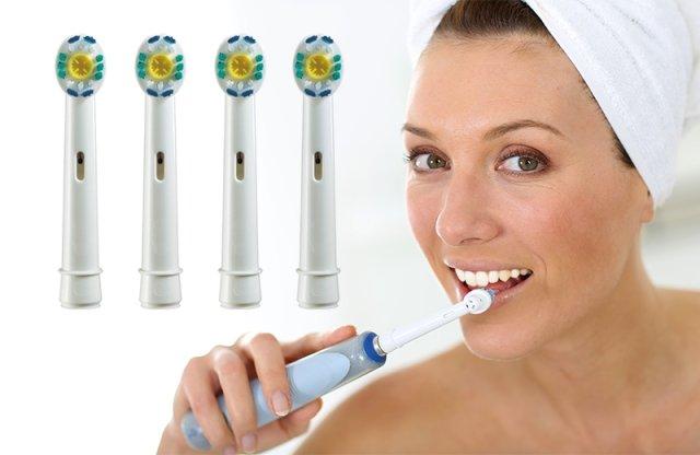 3D-s fogkefefej, Oral-B kompatibilis, 4 db-os