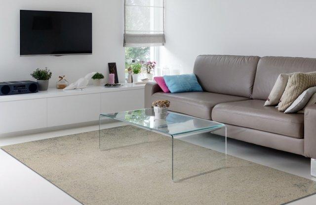 SAURON szőnyeg, 100% viszkóz, 200x300 cm, bézs