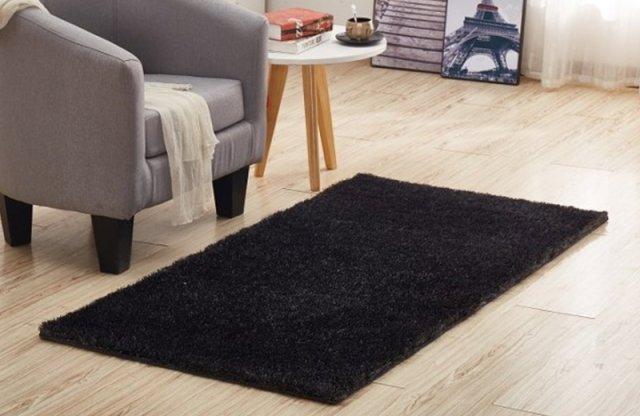 DELLA szőnyeg, 100% poliészter, 170x240 cm, szürke