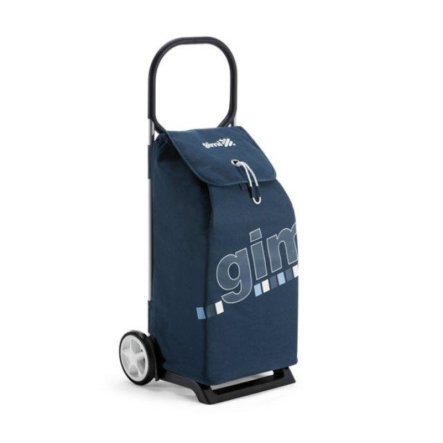 Bevásárlókocsi, kék elegance, 52 L, max. 30 kg