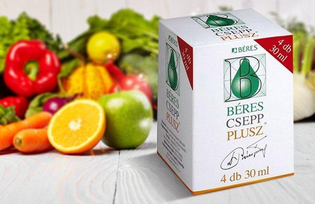 Béres Csepp Plusz, 4x30 ml