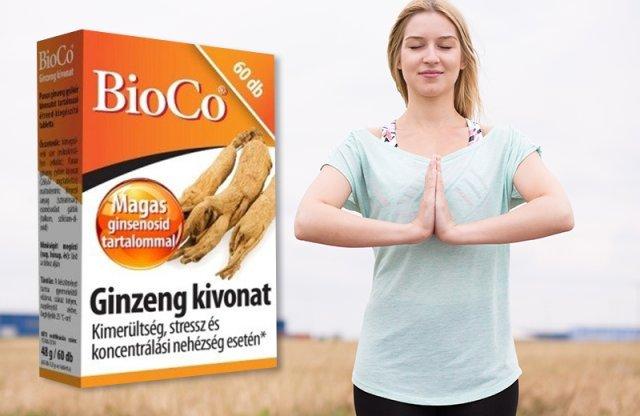 BioCo Ginzeng kivonat, 60 db tabletta