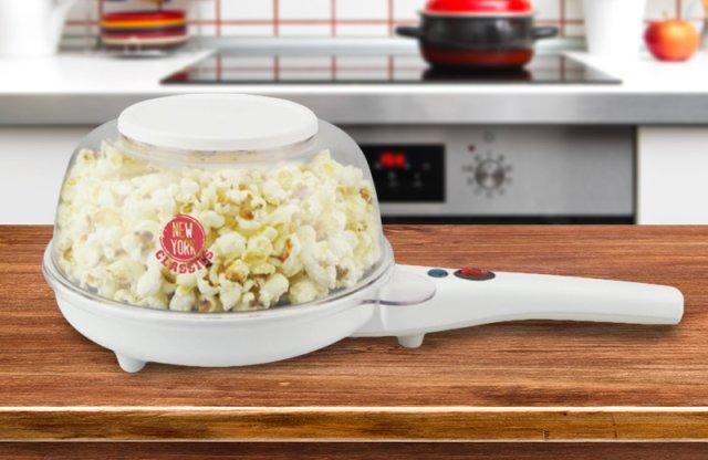 Kalorik elektromos serpenyő és popcorn készítő