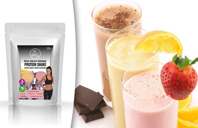 Szafi Free Barna rizscsíra-fehérjepor protein shake, 300 g