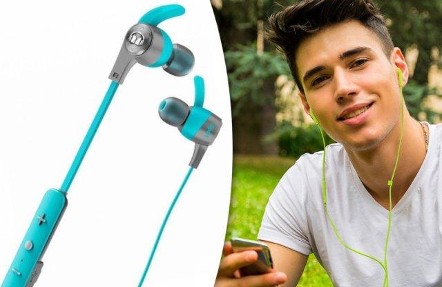 Monster iSport Achieve fülhallgató, wireless, kék + más színekben