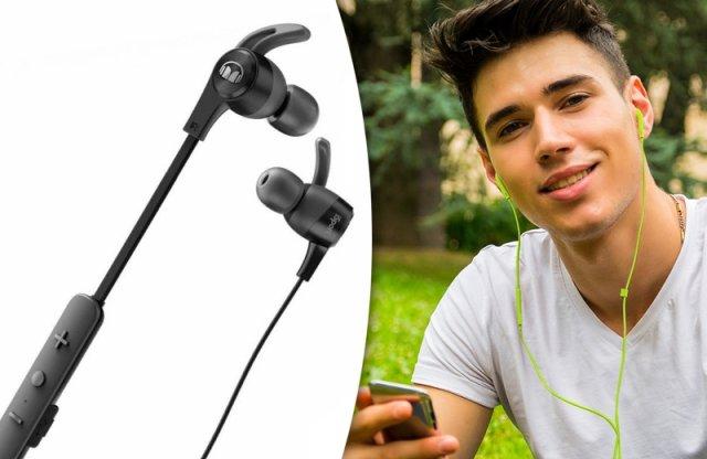 Monster iSport Achieve fülhallgató, wireless, fekete + más színekben