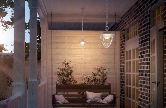 Philips MyGarden ROBIN kerti mennyezeti lámpa + más típusban