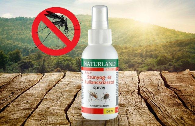 Naturland szúnyog és kullancsriasztó spray, 100 ml