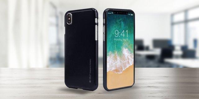 Mercury iPhone X TPU tok, fekete + több színben