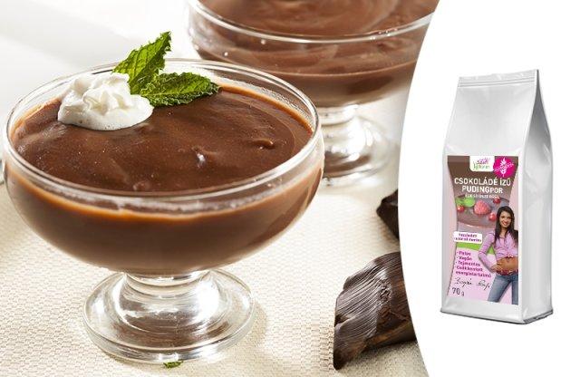 Szafi Reform Csokoládé ízű pudingpor édesítőszerrel, 70 g