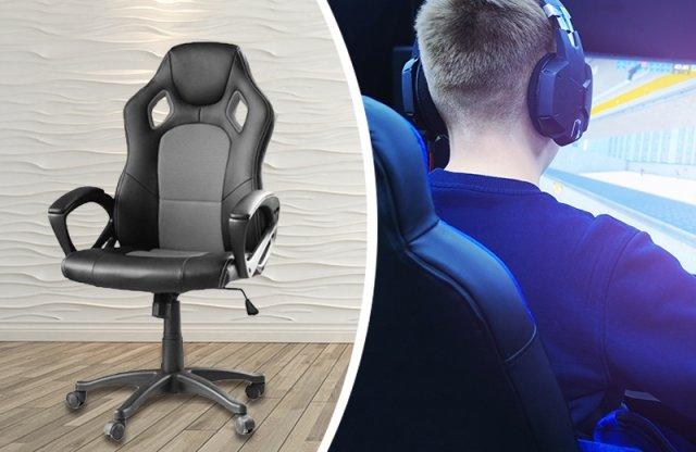 Gamer szék, basic, szürke + több színben