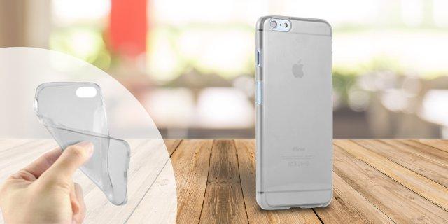 iPhone 6/6S szilikon védőtok, 0,33 mm, átlátszó + több színben