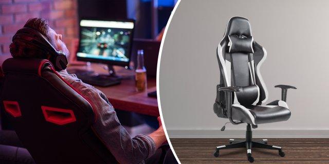 Gamer szék pro, fekete-szürke + több színben