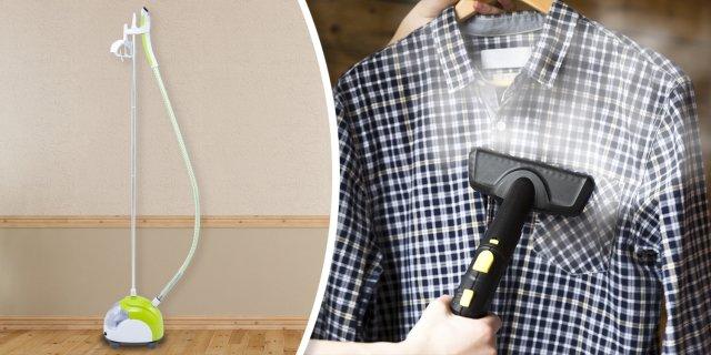 Camry ruha gőzölő, 2200W, zöld