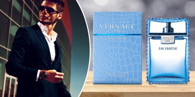 Versace   Eau Fraiche, férfi parfüm (eau de toilete) 100 ml