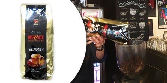 Biancaffe Espressobar Espresso szemes kávé, 100% Arabica, 1 kg