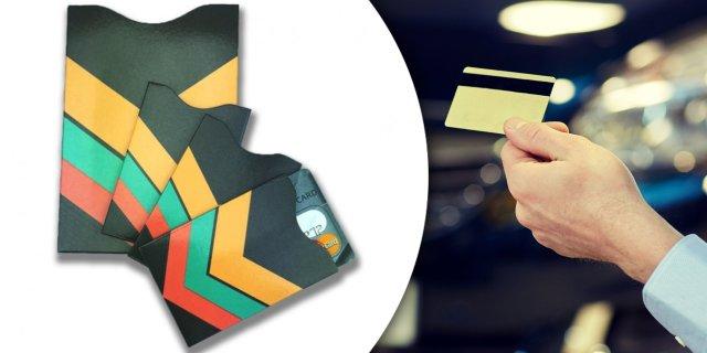 b5d23e40804e RFID adatlopás elleni tok szett (3 bankkártya- és 1 útlevél tok ...