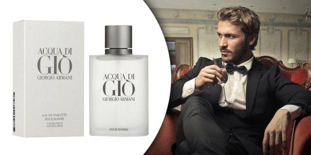 Giorgio Armani | Acqua di Gio, férfi parfüm (eau de toilette) 50 ml