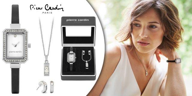 Pierre Cardin Ajándékszett - Óra - Nyaklánc - Fülbevaló