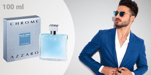 Azzaro   Chrome, férfi parfüm (eau de toilette) 100 ml