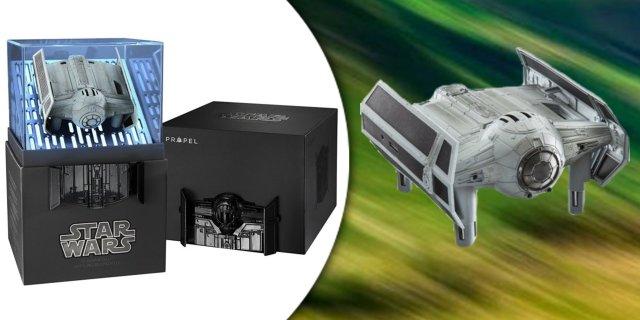 Propel Star Wars TIE ADVANCED x1 harci drón - Gyűjtői kiadás