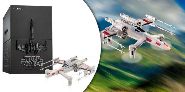 Propel T65 Star Wars X-wing harci drón - Gyűjtői kiadás