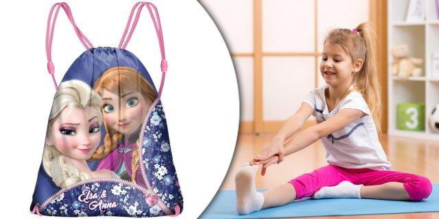 Sporttáska tornazsák Disney Frozen, Jégvarázs