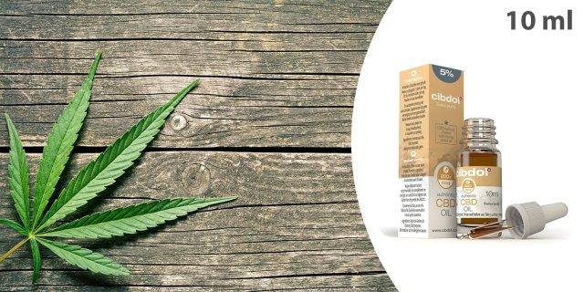 Cibdol CBD 5%, kendermagolaj, 10 ml + más kiszerelésben