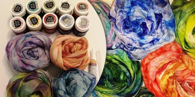Selyemsál festő kezdőcsomag