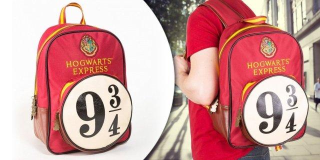 Harry Potter Hogwarts 9 és 3/4 vágány hátizsák