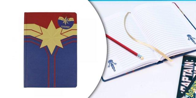 Marvel Kapitány jegyzetfüzet