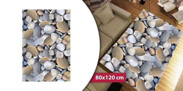 BESS szőnyeg, 100% poliészter, kő mintás, 80x120 cm + más méretben