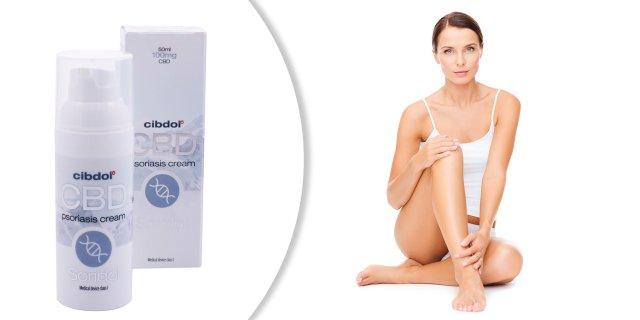 Cibdol Soridol CBD 100 mg krém pikkelysömörre, 50 ml
