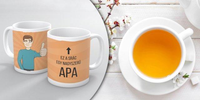 NAGYSZERŰ APA - Bögre