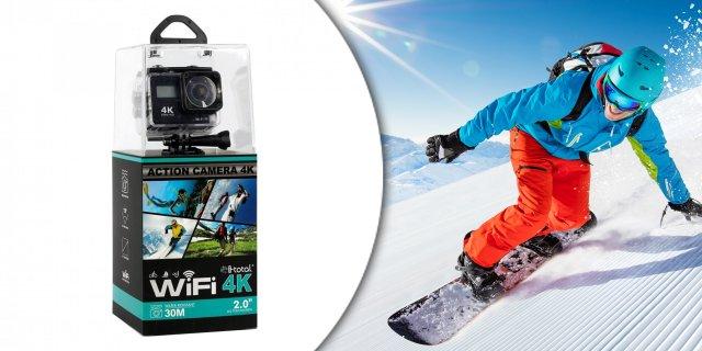 iTotal CM2809H Wifi 4K akciókamera 2 colos érintő kijelzővel