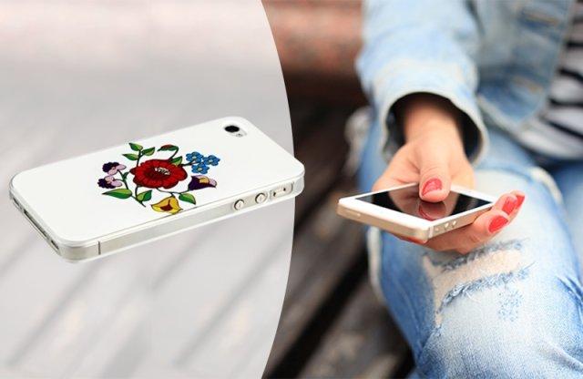 Kalocsai mintás iPhone 4/4S tok