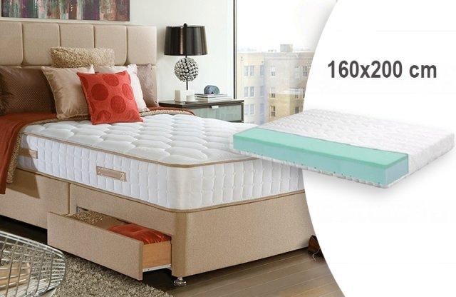 Nanni Elite Relax memory vákuum matrac, 160x200 cm + több méretben