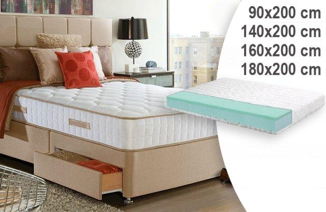 Nanni Elite Relax memory vákuum matrac, 140x200 cm + több méretben
